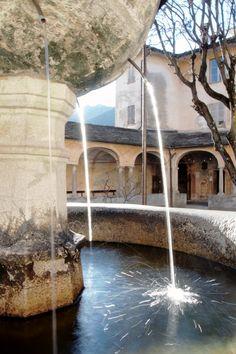 #sacrimontisocial Fontana della resurrezione
