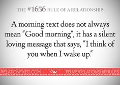 Relationship Rule # 1656