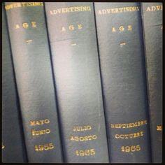 La revista de los Mad Men. Rincones del #centrodedocumentacionpublicitaria