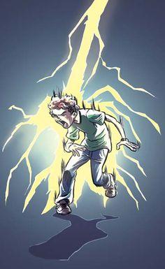 Dude struck by lightning