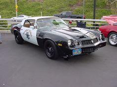1979 Z28 CHP Police Car