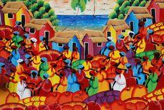 caribbean designer food art - Google Search Figure Painting, Painting & Drawing, Latino Art, Hispanic Heritage Month, Caribbean Art, Afro Art, Tropical Art, Dominican Republic, Art Google