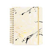 [monogram] ban.do 17 month large agenda - marble (blonde)