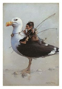 "Jean-Baptiste Monge illustrator / ""Au Bord des Continents""  www.BBPCreations.com"