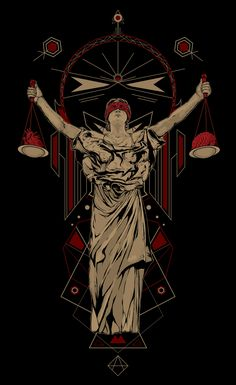 """""""Lady Justice"""" by Stephen Aborde Justice Tattoo, Libra Art, Libra Tattoo, Lady Justice, Protest Posters, Trippy Wallpaper, Alphonse Mucha, Dark Photography, Graphic Design Typography"""