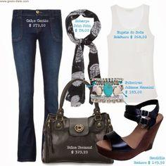 Como usar calça flare - Jeans Flare - Flare Denim - Boot Cut