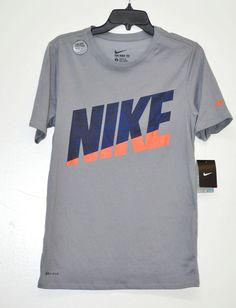 Nike Men's Interference Basketball Tee Short Sleeve Base Layers Gray size S NWT #Nike #BaseLayers