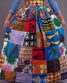 Ankara maxi skirt African print maxi skirt Maxi by MaDeInAfrikaGh. Ankara maxi…