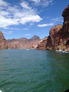 Lake Havasu, Arizona. Many great summers of waterskiing!