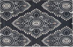 One Kings Lane - Power Palette - Didier Rug, Gray/Ivory