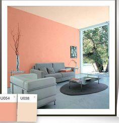 Sala-comedor pintura | Salas | Pinturas para dormitorios, Colores de ...