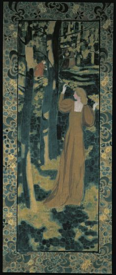 Maurice Denis (French, 1870 - Spring (Printemps), N/D … Maurice Denis, Henri De Toulouse Lautrec, Avant Garde Artists, Pierre Bonnard, Impressionist Artists, Edouard Vuillard, Fauvism, Post Impressionism, Paul Gauguin