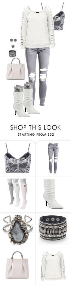 """Untitled #11"" by tammybitner on Polyvore featuring Boohoo, AMIRI, Muk Luks, Kendall + Kylie, Alexander McQueen, Stella & Dot, Alexandra de Curtis, Venus and plus size clothing"