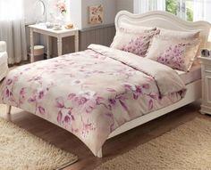 Купить постельное белье MAGNOLIA розовое 1,5-сп от производителя Tac (Турция)