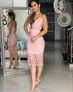 NUEVA COLECCIÓN!! PRENDAS DE BRASIL, ITALIA Y ESTADOS UNIDOS CONJUNTO $$ 239.000 LA LÍNEA DE INFORMACIÓN ES LA 3104378541 NUESTRO HORARIO… New Dress Pattern, Dress Patterns, Date Outfits, Spring Outfits, Girl Fashion, Fashion Dresses, Dress Collection, Lace Dress, Bridesmaid Dresses
