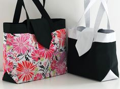 {Madison} compartmentalized bag pattern