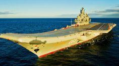 Kuznetsov el poderoso (y gafe) portaaviones ruso que ronda la costa española
