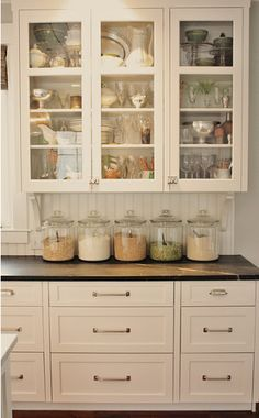 If I extend the cabinetry in my kitchen, this is an option of what it could look like