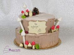 Mushroom Cake, Stuffed Mushrooms, Birthday Cake, Desserts, Food, Toadstool Cake, Stuff Mushrooms, Tailgate Desserts, Deserts