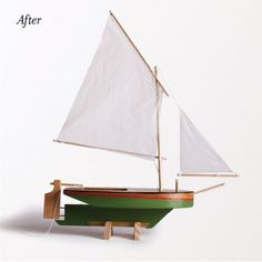 Small little craft kit for making sail boats