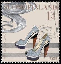 Finland fashion postage stamp