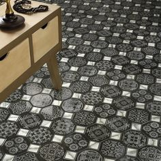 Printed Floor Tile Home Goods Free Shipping On Orders Over 45 At Overstock Com