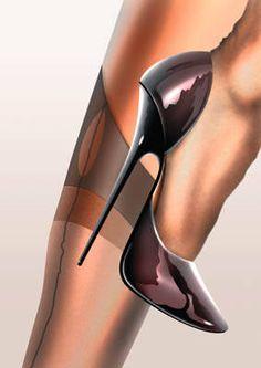 wolfdancer: Silk Stockings and Stilettos ~ Classic