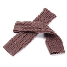 Mens Knit Gloves Gifts for Him Men's Fingerless Gloves