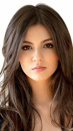 Beauty Girls: Most Beautiful Girls Lovely Eyes, Beautiful Girl Image, Most Beautiful Women, Girl Face, Woman Face, Brunette Beauty, Hair Beauty, Actrices Sexy, Victoria Justice