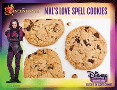 Mal's Love Spell Cookies Recipe from Descendants | SKGaleana