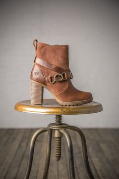 6f7814cba4ef We love the buckle detail and the stacked heel for a little bit of height  on. Timberland US Store