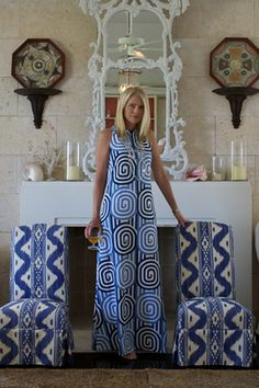 Quadrille, China Seas, Alan Campbell, Home Couture - Who knew you could wear it too?!