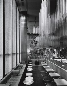 sprucedup:  Four Seasons Restaurant - Phillip Johnson