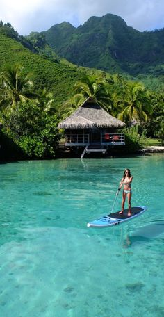 Travel with Travelon Bags! Moorea, French Polynesia https://www.uksportsoutdoors.com/product/inflatable-stand-up-paddle-board/