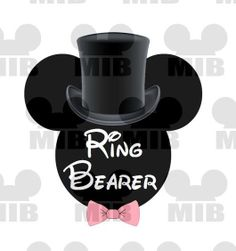 RING BEARER  Just Right for Your Disney Wedding  by MiceInBlack, $4.50