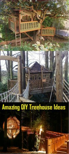 Amazing DIY Treehouse Ideas And Designs That You Would Want To Make