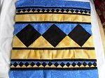 Seminole Patchwork Cushion