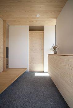 Minimal House Design, Minimal Home, Home Entrance Decor, House Entrance, Home Decor, Japanese Architecture, Interior Architecture, Interior Design, Japanese Modern