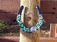 Southwestern Horseshoe Native American Horseshoe by TooMiniShoes