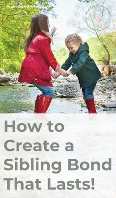How to create a sibling bond that lasts! Family is everything! Do you want to encourage a strong and loving sibling relationship? Here are 5 secret ways to do this from a fellow mom and school psychologist. #friendship #family #familylife #momlife Practical Parenting, Kids And Parenting, Parenting Hacks, Sibling Fighting, Sibling Relationships, Feeling Left Out, New Sibling, Older Siblings, Family Is Everything
