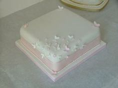 simple 1 tier square wedding cakes 1000 images about cake on simple weddings 19904
