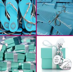 Ideias de lembrancinhas Tiffany Birthday Party, Tiffany Party, Tiffany Theme, Tiffany Blue, 15th Birthday, Blue Wedding, Wedding Favors, Gifts, Blog