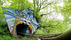Spreepark, Allemagne. Un parc d'attractions abandonné depuis 2002.