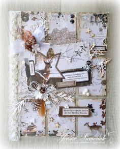 Sizzix DT - Pocket Letter Frozen Forest