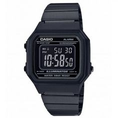 Straight from the Casio Vintage Collection comes a timepiece that never goes out of style. The combines style with features Casio is known for such as an EL backlight and a second stopwatch. This timepiece is the perfect complement to any outfit. Casio Digital, Mens Digital Watches, Stylish Watches, Casual Watches, Cool Watches, Watches For Men, Elegant Watches, Black Watches, Luxury Watches
