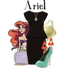 Same Dress Challenge: Ariel
