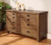 York wide 8 drawer chest of drawers solid reclaimed oak wood furniture Walnut Furniture, Cabinet Furniture, Bedroom Furniture, Dressing Table Rustic, Oak Desk, Chest Of Drawers, Furniture Making, Decorating Your Home, House Design