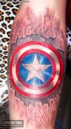 super hero villain tats on pinterest batman tattoo captain america tattoo and wonder woman. Black Bedroom Furniture Sets. Home Design Ideas