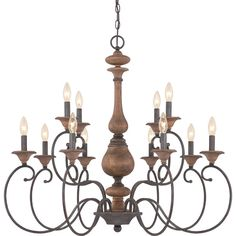 Auburn 12 Light Candle Chandelier