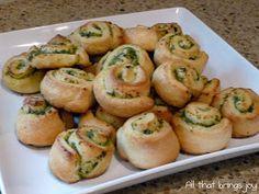 All That Brings Joy: Pesto Pinwheels